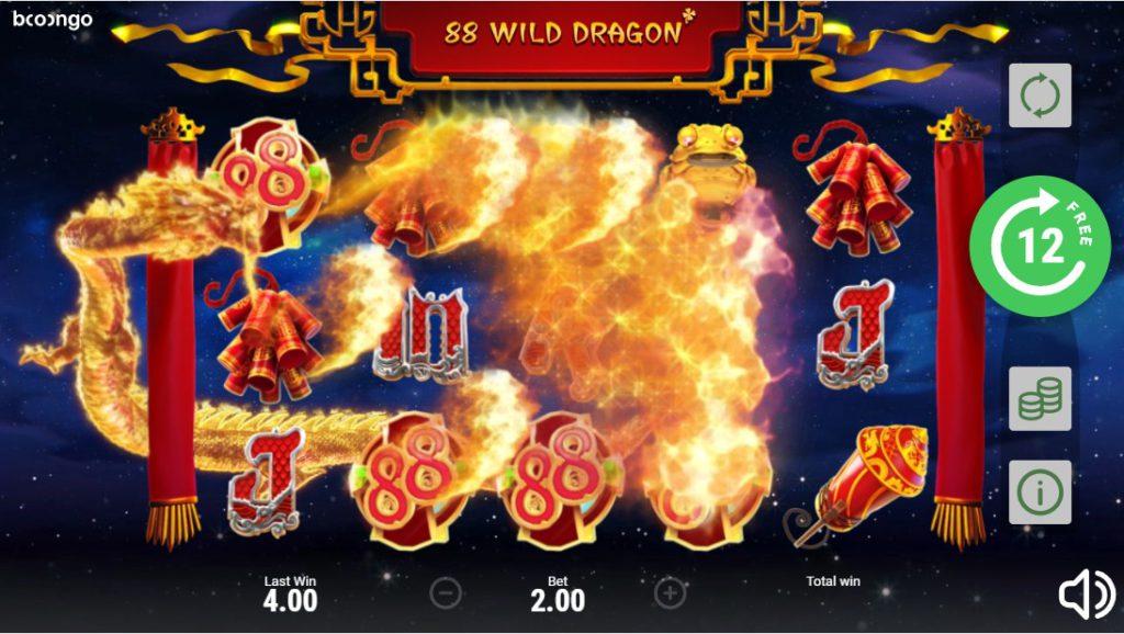 88 Wild Dragon в Jet Казино